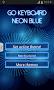 GO Keyboard Neon Blue - Imagen 3