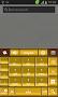 GO Keyboard Gold Theme - Imagen 7