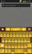 Imagen GO Keyboard Gold Theme 1.4