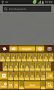 GO Keyboard Gold Theme - Imagen 1