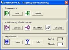 Imagen OpenPuff 3.40