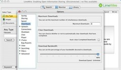 Imagen LimeWire para Mac OS X 5.3.0 Beta/5.2.13