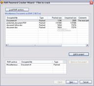 Imagen RAR Password Cracker 4.12