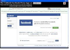 Imagen Unblock Facebook Proxy 2.0