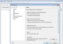 Imagen Eclipse IDE for Java Developers 3.6.1
