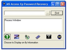 Imagen MS Access Password Recovery 1.1