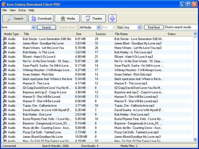 ares online musica para escuchar y descargar