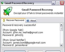 Imagen Gmail Password Recovery 1.10.02.08