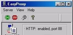 Imagen EasyProxy Server 0.80