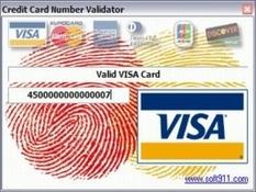 Imagen Credit Card Number Validator 1.1