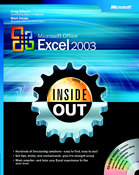 Imagen Excel 2003 Sample Office System Inside Out 1