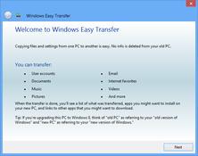 Imagen Windows Easy Transfer para Windows XP 6.0