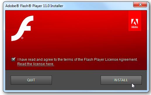 как установить adobe flash player для тор браузера gydra