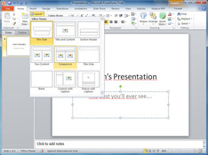 Imagen Microsoft PowerPoint 2010
