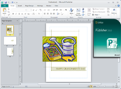 Imagen Microsoft Office Publisher 2010