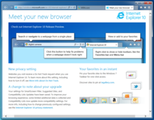Imagen Internet Explorer 10 para Windows 7 10.0.9200.16521 (64 bits)
