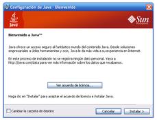 Imagen Java 8 JRE 8.0.0.75 Preview (32 bits)