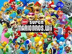 New Super Mario Bros Wii Wallpaper Download