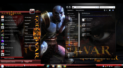 Imagen Tema de God of War III para Windows 7