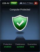 Imagen USB-AV Antivirus 2013 3.2.8