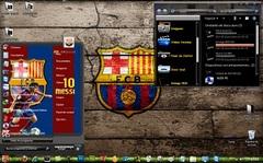 Imagen Tema FC Barcelona para Windows 7
