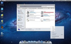 Imagen Mac OS X Lion Skin Pack para Windows 7 13