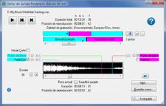 Imagen Grabador y Editor de Sonido PolderbitS 9.0.129 (32 bit)