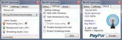 Imagen WLAN Optimizer 0.21 Alpha