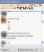 Imagen Facebook Chat Emoticons Bar 0.0.17 para Firefox