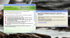 Imagen Microsoft Visual C# 2008 Express 9.0.30729 SP1