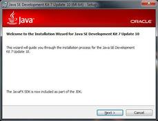 Imagen Java 7 JDK 7.0.130.20 (64 bits)