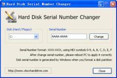 Imagen Hard Disk Serial Number Changer 1.0