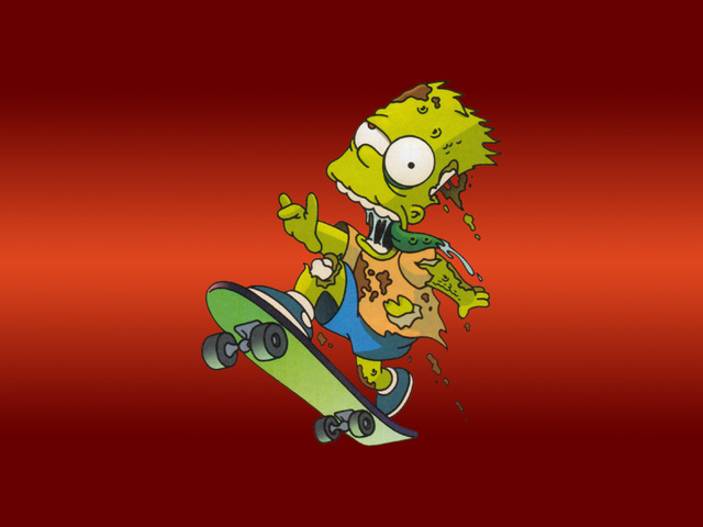 Fond d'écran Simpson - Descargar
