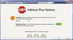Imagen Adblock Plus para Internet Explorer (64 bits) 1.1.5