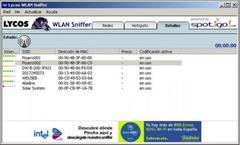 Imagen Lycos WLAN Sniffer 1.11