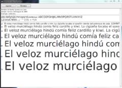 Imagen Ecofont 2.04