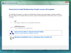 Imagen Windows 7 Easy Transfer 6.1.7600 para XP