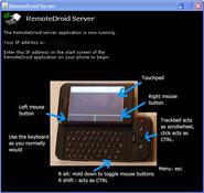 Imagen RemoteDroidServer 1.4