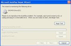 Imagen Microsoft AutoPlay Repair Wizard 5.2.3790.67