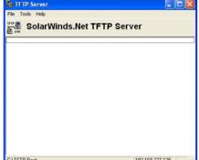 Imagen SolarWinds TFTP Server 8.2