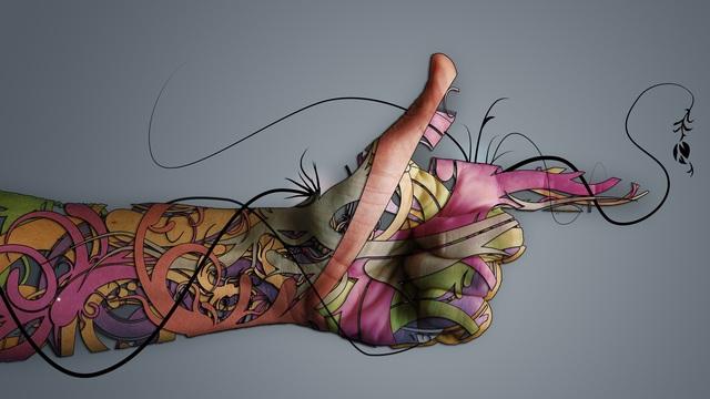 screensaver tatoo