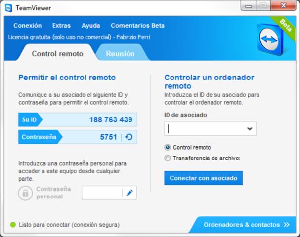 TeamViewer 8 Beta - Descargar