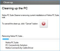 Image Nokia PC Suite Cleaner 7.1.1