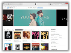 Imagen iTunes 12.0.1