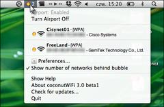 Imagen coconutWiFi 3.0 Beta 1
