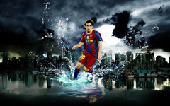 Imagen FC Barcelona Leo Messi Wallpaper