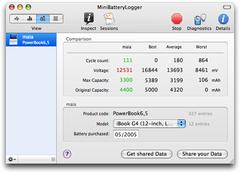 Imagen MiniBatteryLogger 1.8.3