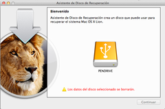 Imagen Lion Recovery Disk Assistant 1.0