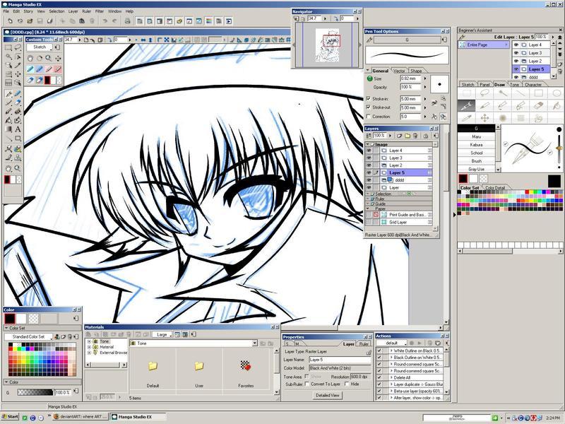 manga studio ex 4.02
