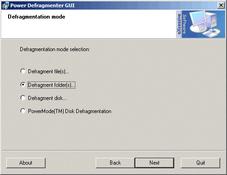 Imagen Power Defragmenter GUI 2.0.125